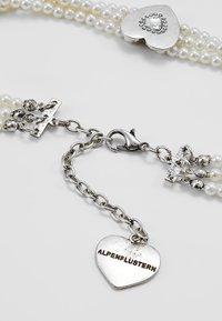 Alpenflüstern - Halskette - cremeweiß - 2