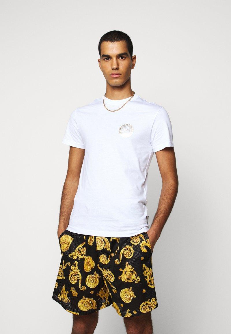 Versace Jeans Couture - T-shirt z nadrukiem - white