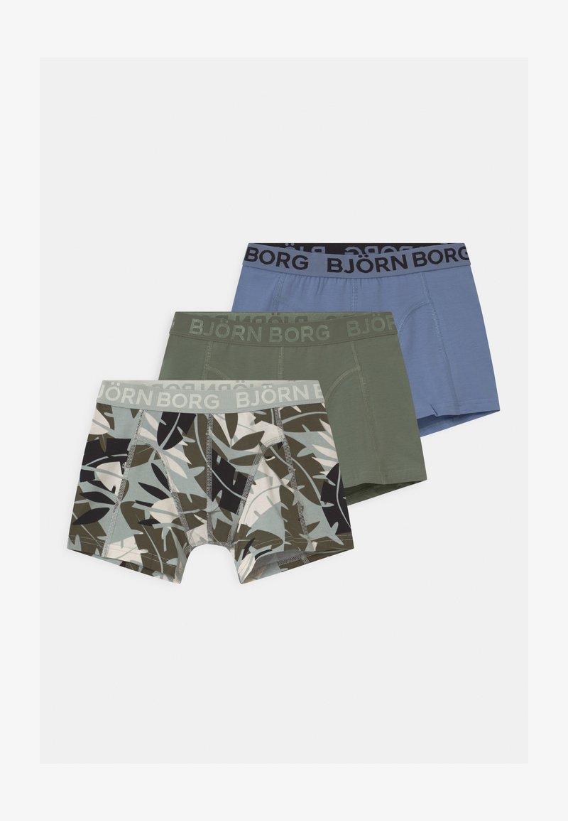 Björn Borg - JUNGLE SAMMY 3 PACK - Pants - puritan gray