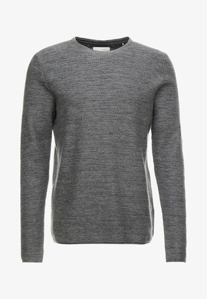 NOOS - Stickad tröja - medium grey