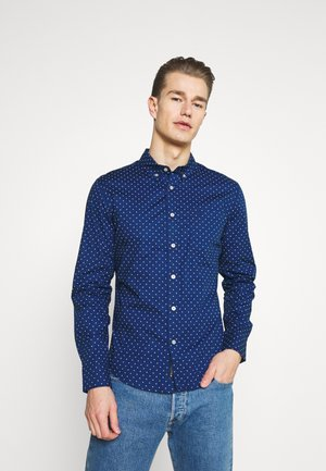 ALPHA ICON  - Shirt - polley estate blue