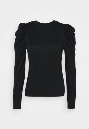 JDYTONSY PUFF SLEEVE  - Strikkegenser - black