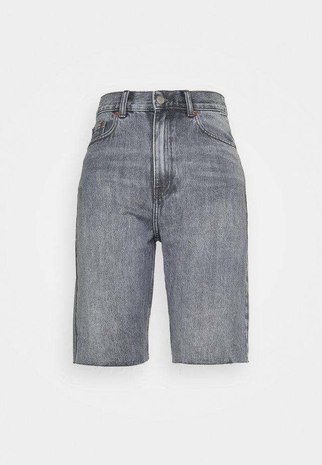 ECHO - Jeansshorts - washed grey