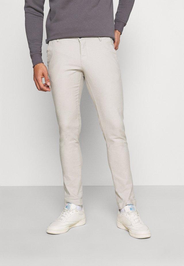 POMPEI SLIM - Chino kalhoty - beige