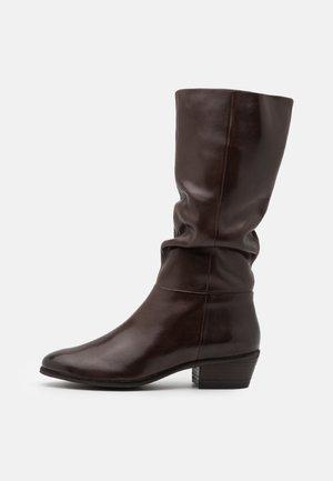 SOLANGE - Boots - dark brown