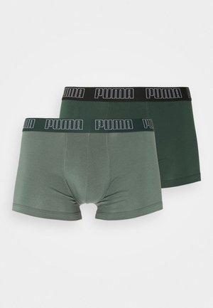 BASIC TRUNK 2 PACK - Boxerky - green
