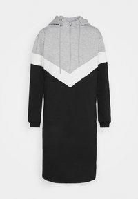NMMELINA DRESS - Day dress - light grey melange