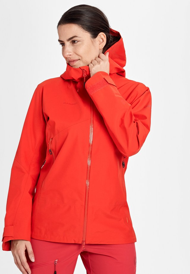 Hardshell jacket - spicy