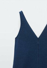 Massimo Dutti - Denim dress - blue - 3