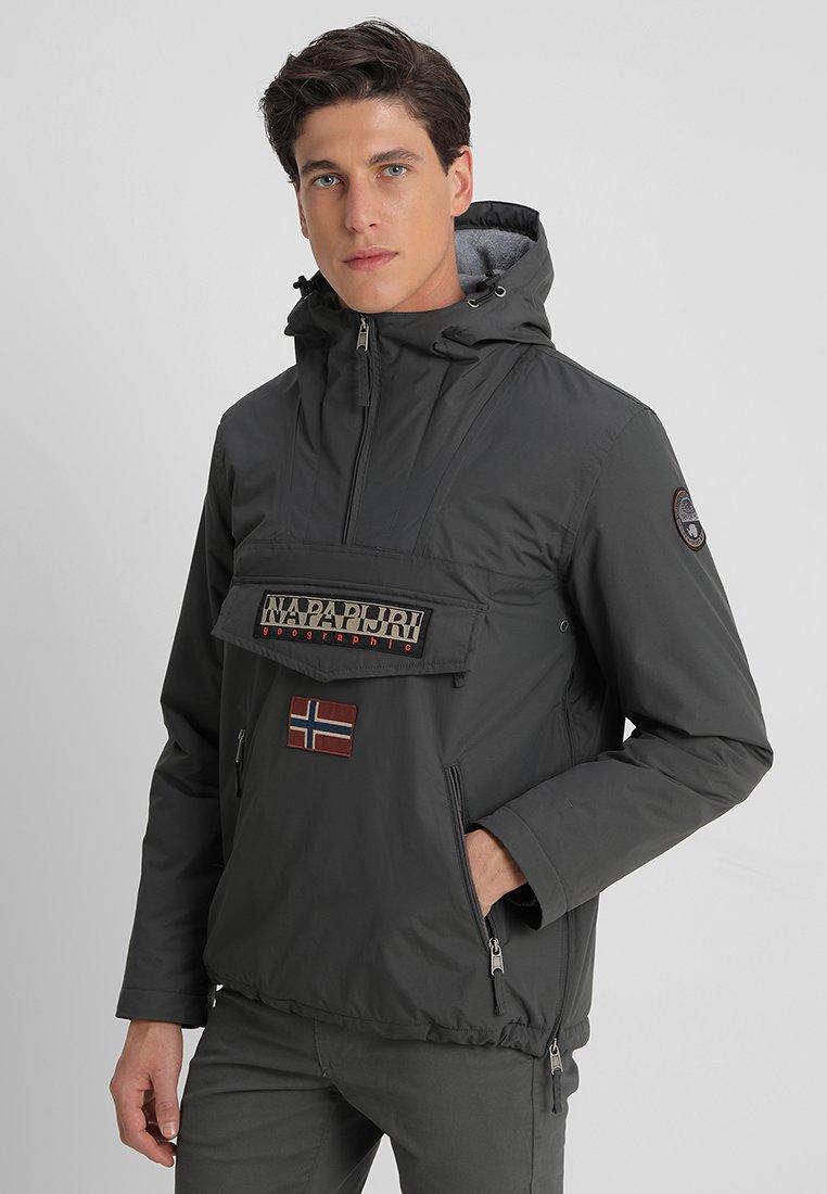 Napapijri - RAINFOREST POCKET  - Winter jacket - dark grey solid