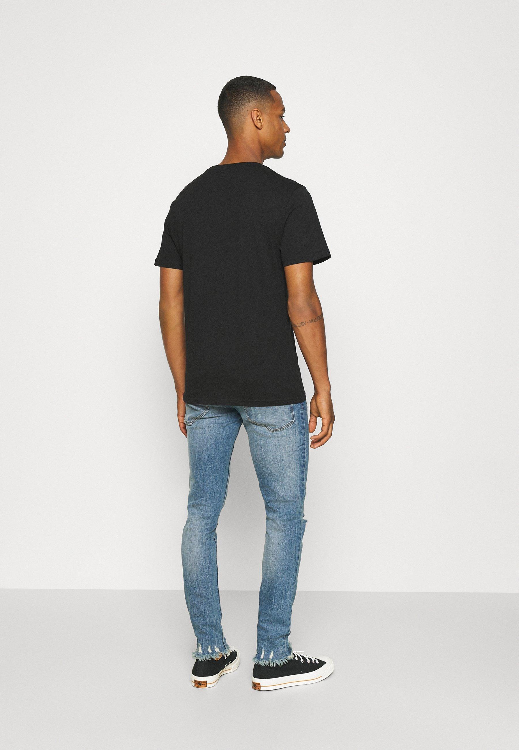 Herren STOCKHOLM DESTROY - Jeans Skinny Fit