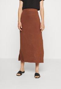 Even&Odd - A-line skirt - tiramisu - 0