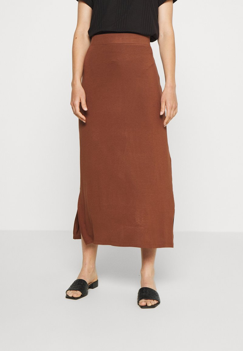 Even&Odd - A-line skirt - tiramisu