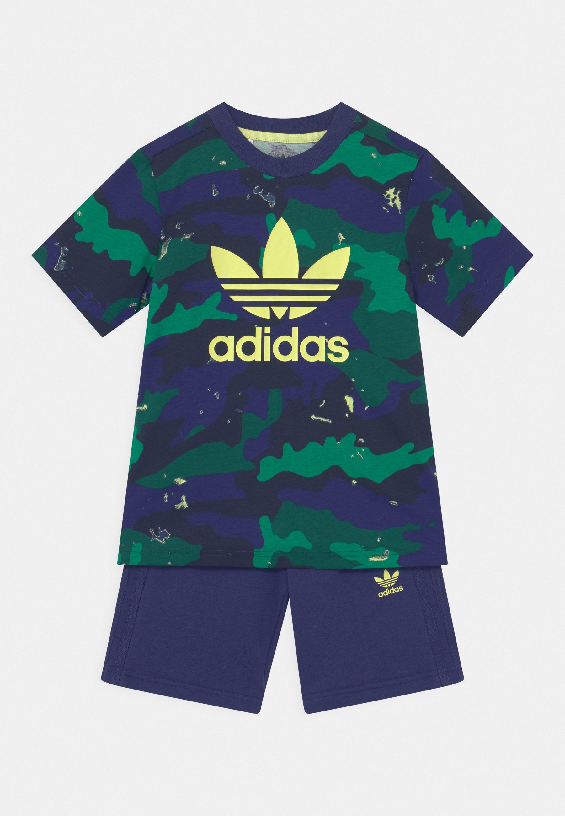 Enfant TEE SET UNISEX - T-shirt imprimé - night sky/multicolor
