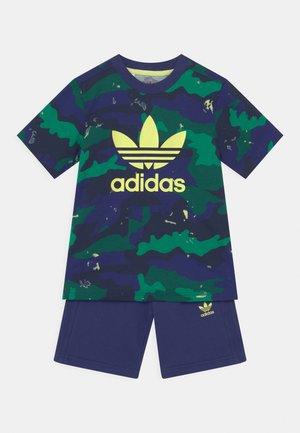 TEE SET UNISEX - Camiseta estampada - night sky/multicolor
