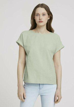 Blus - light dusty green