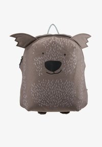 Lässig - BACKPACK ABOUT FRIENDS CALI WOMBAT - Batoh - brown - 1