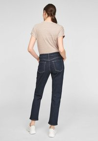 comma casual identity - Print T-shirt - caramel stripes - 2