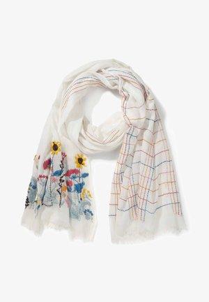 Sjaal - offwhite multicolor