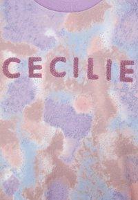 CECILIE copenhagen - MANILA SPRAY - Sweatshirt - violette - 6