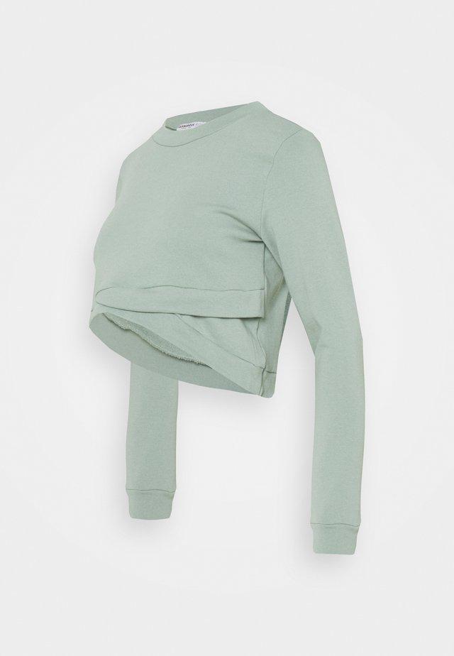 CROPPED - Sweatshirt - desert sage