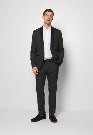 RECYCLED TUX SLIM FIT - Kostym - black