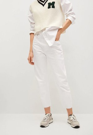 VILLAGE - Relaxed fit jeans - wit