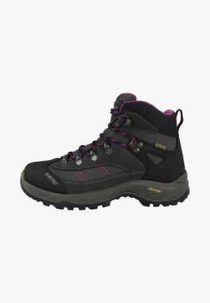Hiking shoes - charcoal-viola
