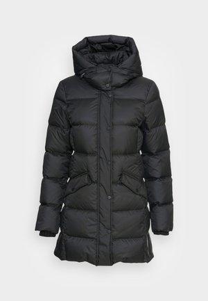 MIDDLE LENGTH - Down coat - black