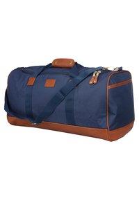 Kangol - Sac de voyage - navy blue/brown - 2