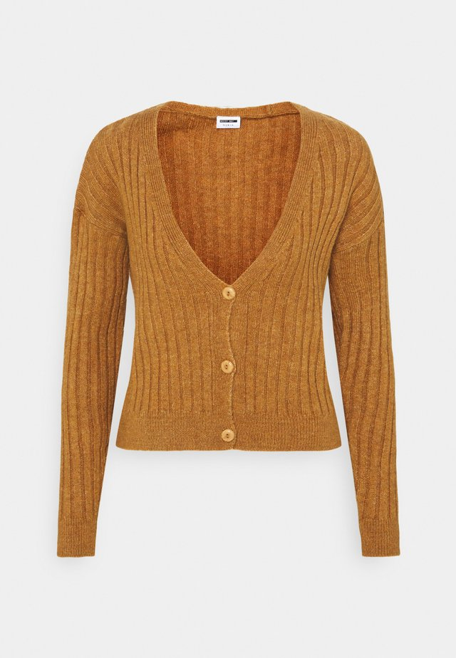 NMLUNA  - Gilet - brown sugar