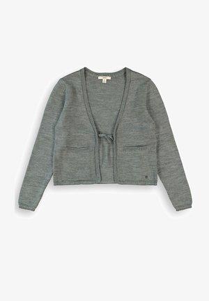 MIT GLITZER STREIFEN - Vest - dark grey