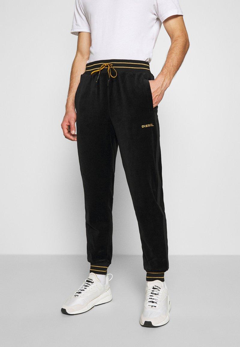 Diesel - UMLB-DARREN-CH TROUSERS - Pantaloni sportivi - black