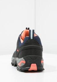 CMP - RIGEL LOW TREKKING SHOE WP - Hiking shoes - blue/giada/peach - 4
