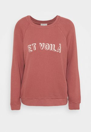 ET VOILA LOGO - Sweatshirt - pale pink