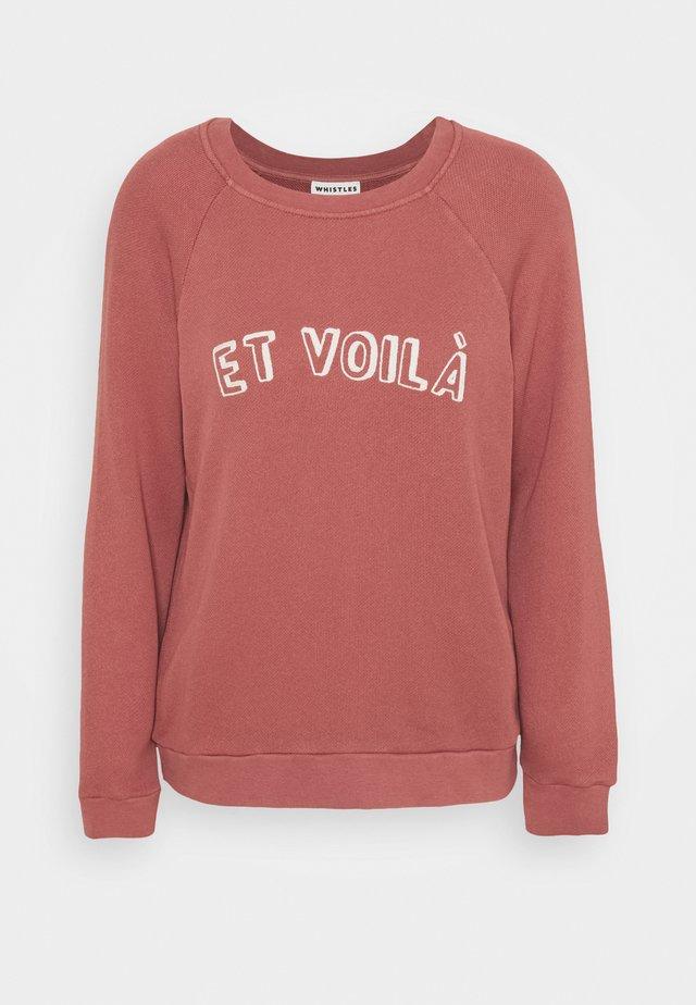 ET VOILA LOGO - Felpa - pale pink