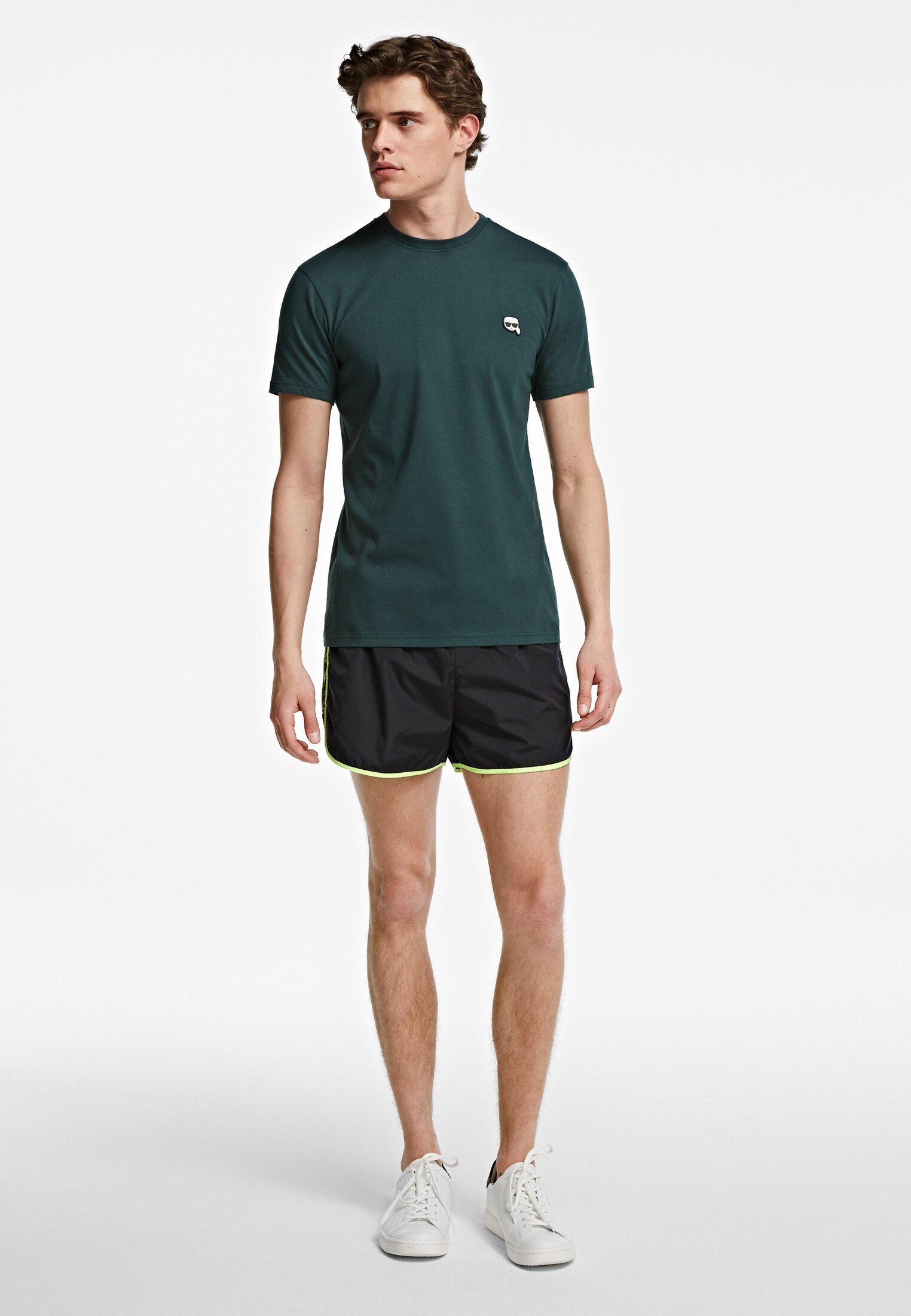KARL LAGERFELD IKONIK - T-shirt basique - green gable