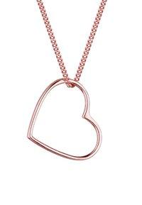 Elli - HEART CUT OUT - Náhrdelník - roségold-coloured - 4