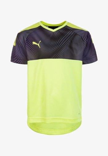 CUP TRIKOT - Sports shirt - neon yellow