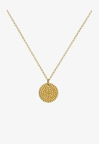 PLATE TREND - Necklace - gold