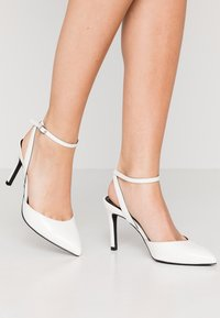 ONLY SHOES - ONLPEACHES  - High heels - white - 0