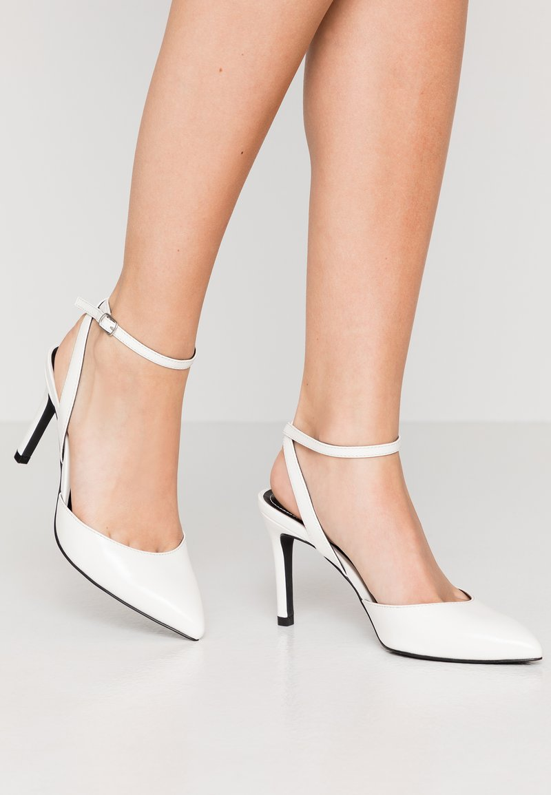 ONLY SHOES - ONLPEACHES  - High heels - white