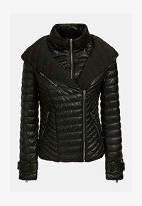 Guess - Faux leather jacket - schwarz - 4