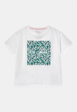 URSULA - T-shirt con stampa - optic white