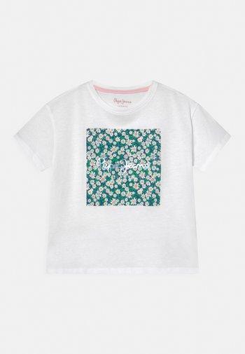 URSULA - Print T-shirt - optic white
