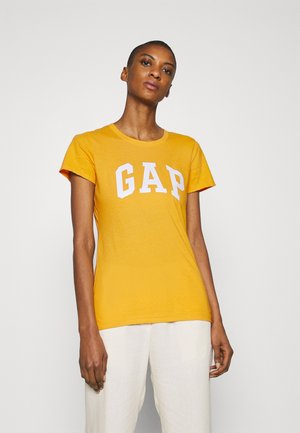 TEE - T-shirts med print - golden glow