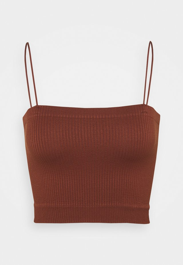 BUNGEE STRAP TUBE - Top - mink brown