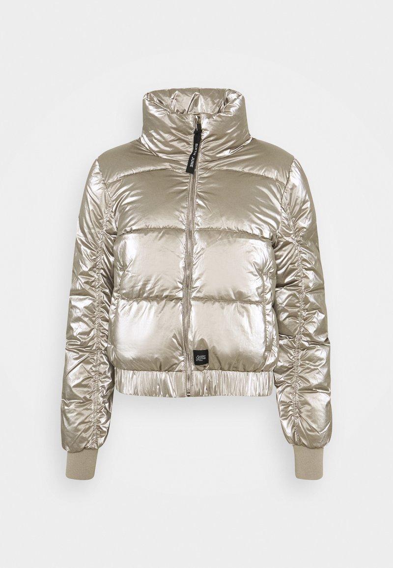 Sixth June - METALLIC SHORT JACKET - Winter jacket - grey