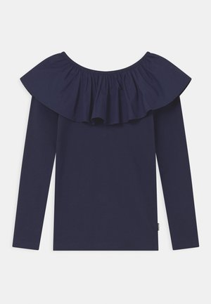 RENATE - Long sleeved top - peacoat