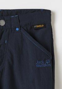 Jack Wolfskin - SAFARI ZIP OFF PANTS 2-IN-1 - Outdoorové kalhoty - night blue - 6